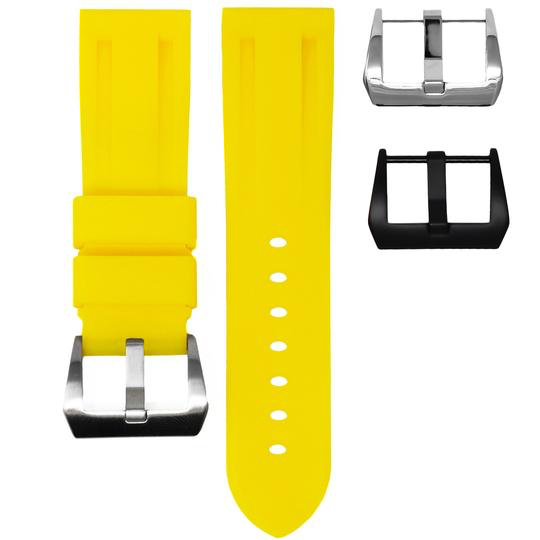 Horusstraps HORUS Yellow rubber for Panerai