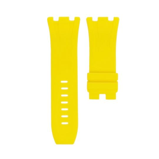 Horusstraps HORUS Yellow Rubber AP Offshore 44mm Strap