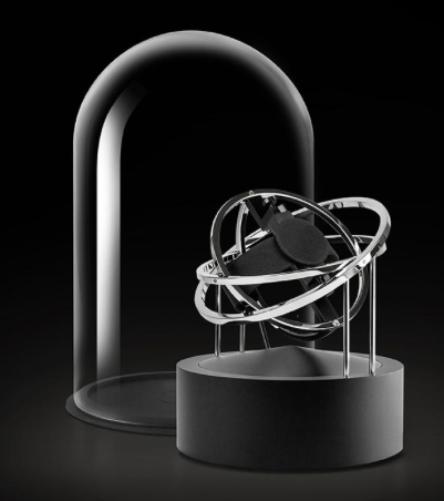 Bernard Favre Planet Double-Axis Silver