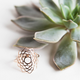 Tiny Om Sahasrara ring