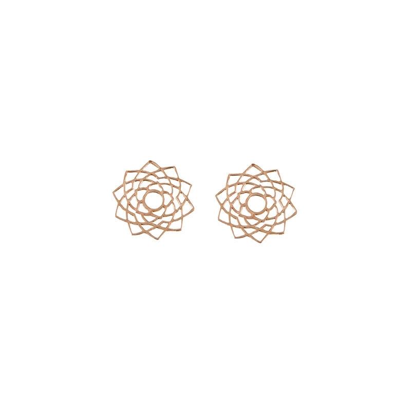 Tiny Om Sahasrara Stud Earrings