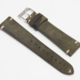 Momentum Vintage Strap Olive Suede Leather