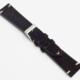 Momentum Vintage Strap Black Suede Leather- 20mm