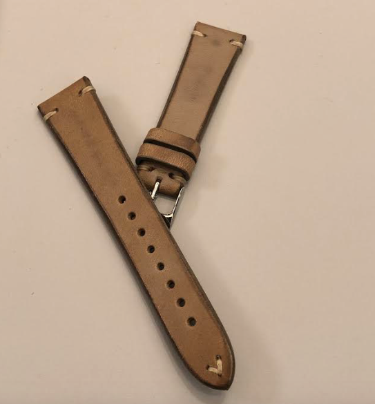 Momentum Vintage Strap Smooth Gainsboro Leather