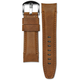 Everest EVEREST CURVED END LEATHER STRAP (CHESTNUT)- PANERAI LUMINOR