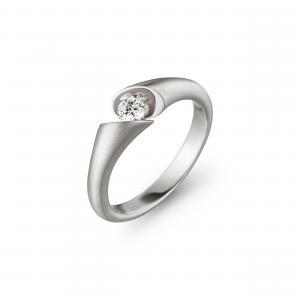 Schaffrath Calla Ring White Gold