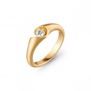 Schaffrath Calla Ring Yellow Gold