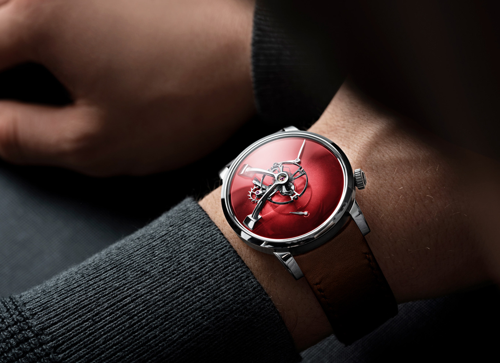 mbandf LM101 MB&F x H.MOSER Red- Join Waitlist