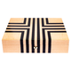 RAPPORT LABYRINTH WATCHBOX for 10 watches- BEIGE