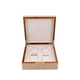 RAPPORT Heritage Bamboo Biege WatchBox for 4 watches