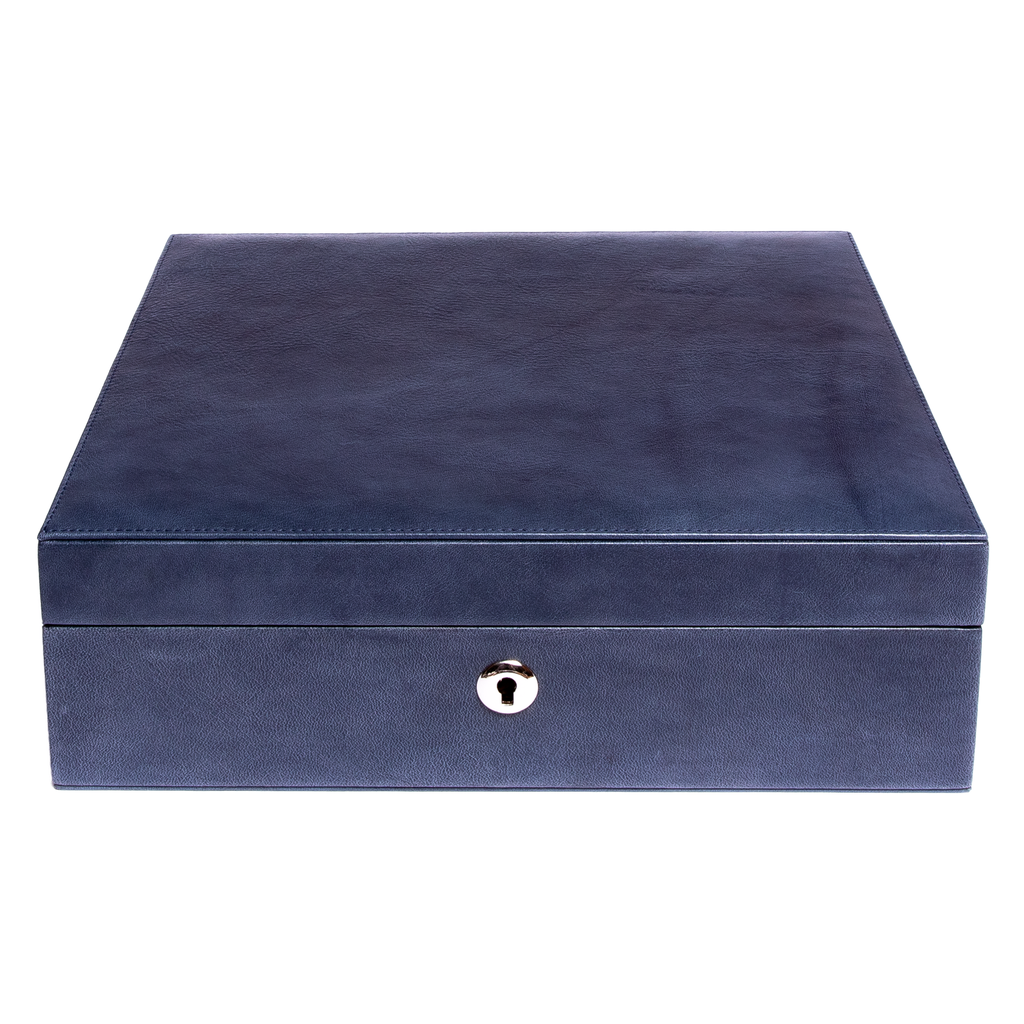 RAPPORT Vintage WatchBox  for 8 watches- Blue