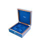 RAPPORT HERITAGE WATCHBOX for 4 watches- BLUE
