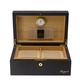 RAPPORT HUMIDOR LEATHER for 100 Cigars - BROWN