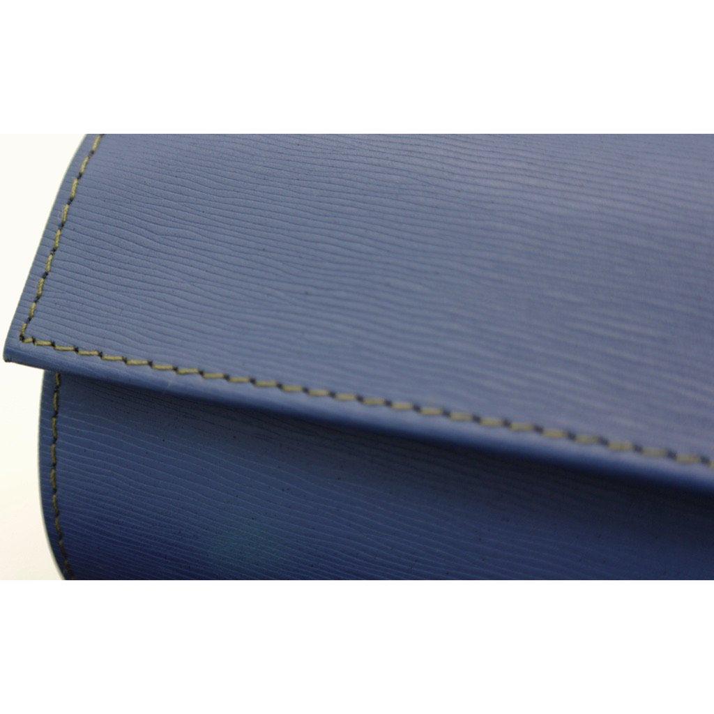 Tempomat LEATHER 3-WATCHROLL - BLUE EPI