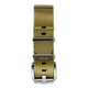 Everest NYLON WATCH BAND FOR WATCHES WITH 20MM LUG WIDTHS- KHAKI