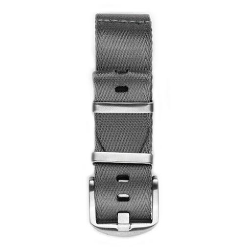 Everest NYLON WATCH BAND FOR WATCHES WITH 20MM LUG WIDTHS- GRAY