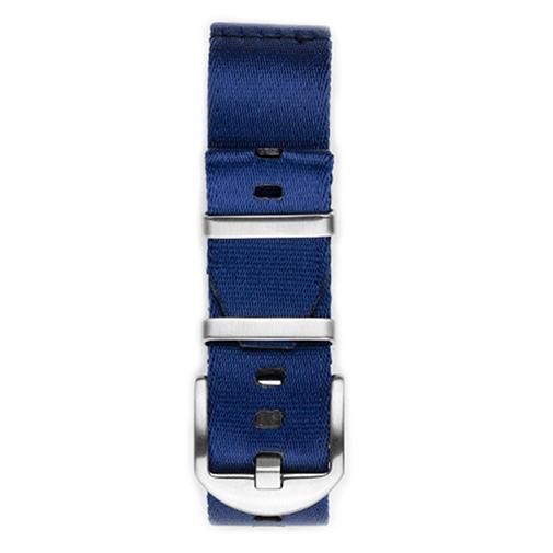 Everest NYLON WATCH BAND FOR WATCHES WITH 22MM LUG WIDTHS- BLUE