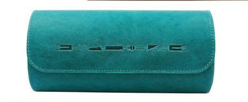 Lum Tec Watch Roll - 3 Watches Turquoise