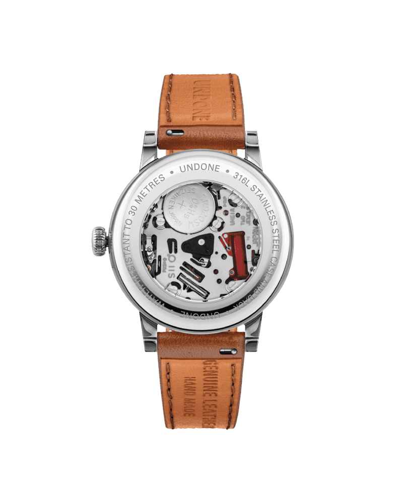 UNDONE Urban 34 Killy - Stainless Steel- Brown