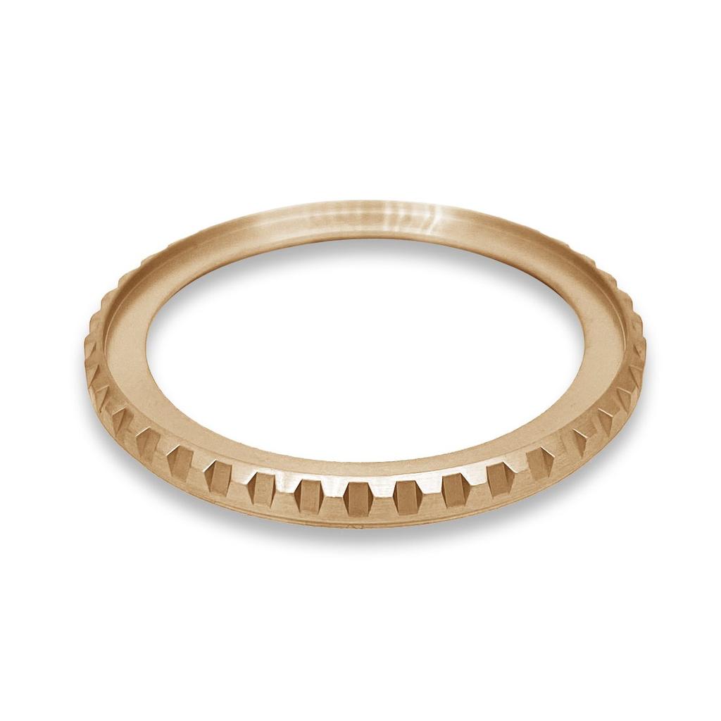 DLW Bezel - SKX007 LX - Brushed PVD Rose Gold