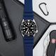 Strapatelier Diver 22mm Silicone strap- Blue
