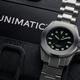Unimatic Modello Quatro U4-A in Steel Bracelet