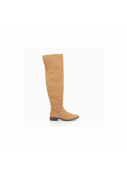 VW Judie Overknee Boots Camel