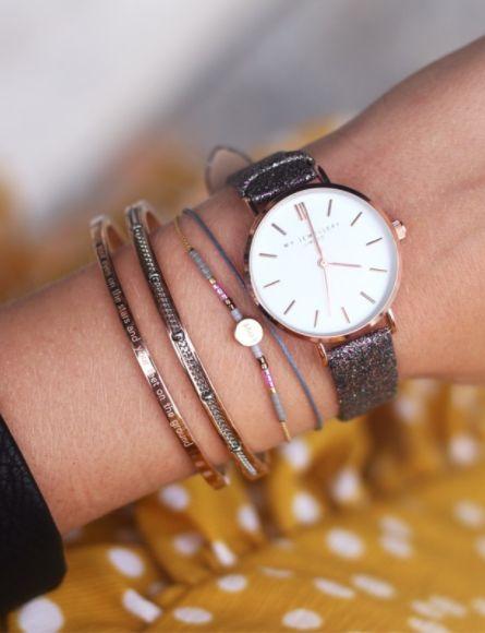 MJ Love Bracelet - Grey