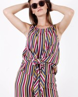 AA Cruz Muticolor Striped Top
