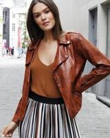 AA Ulrique Leather Look Jacket