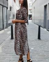 GL Emma Maxi Leopard Dress