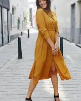 GL Marina Maxi Dress Uni Oker