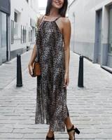 GL Ineke Maxi Leopard Dress