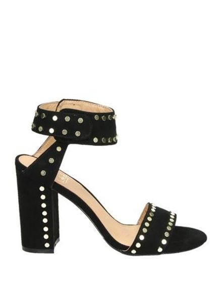 LS Annelies High Heels Black Studs