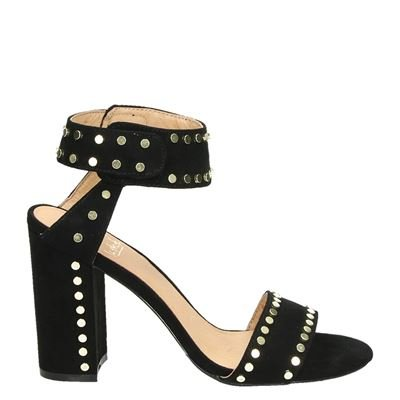 LS Annelies High Heels Black Studs