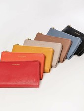 LP Phone Store Wallet Red Soft Leather