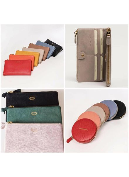 LP Phone Store Wallet Black Soft Leather