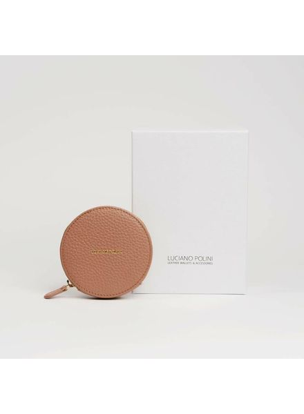 LP Small Coins Wallet Latte