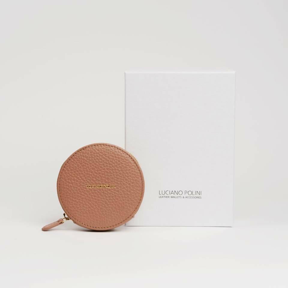 LP Small Coins Wallet Latte
