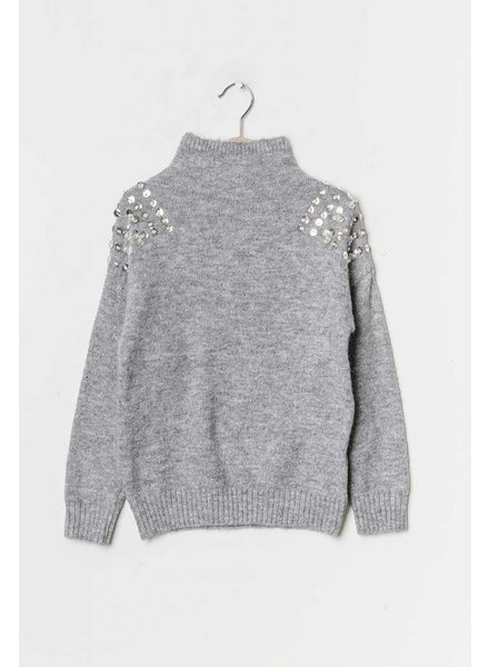 NS Isa Pull Grey Paillettes