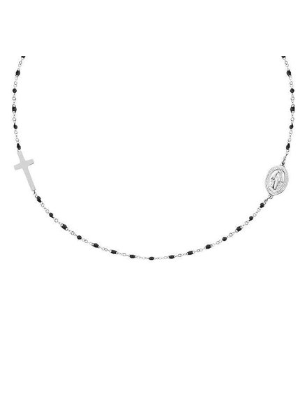 MJ Maria Necklace Silver