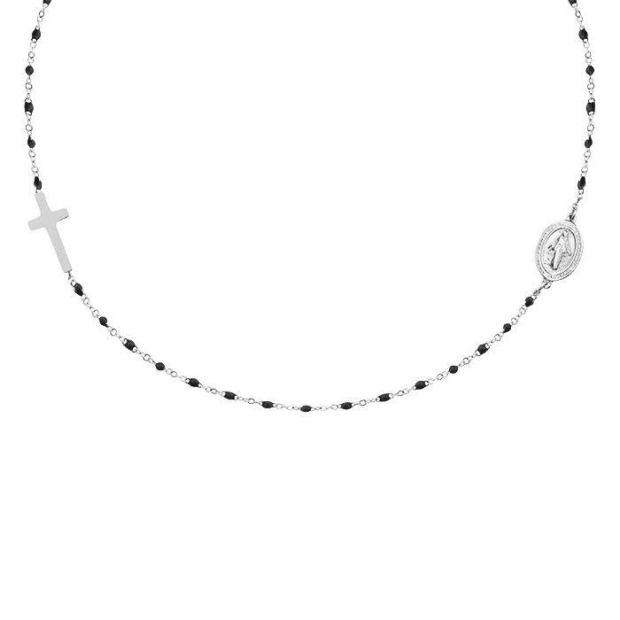 MJ Maria Necklace Silver