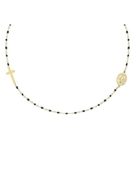 MJ Maria Necklace Gold