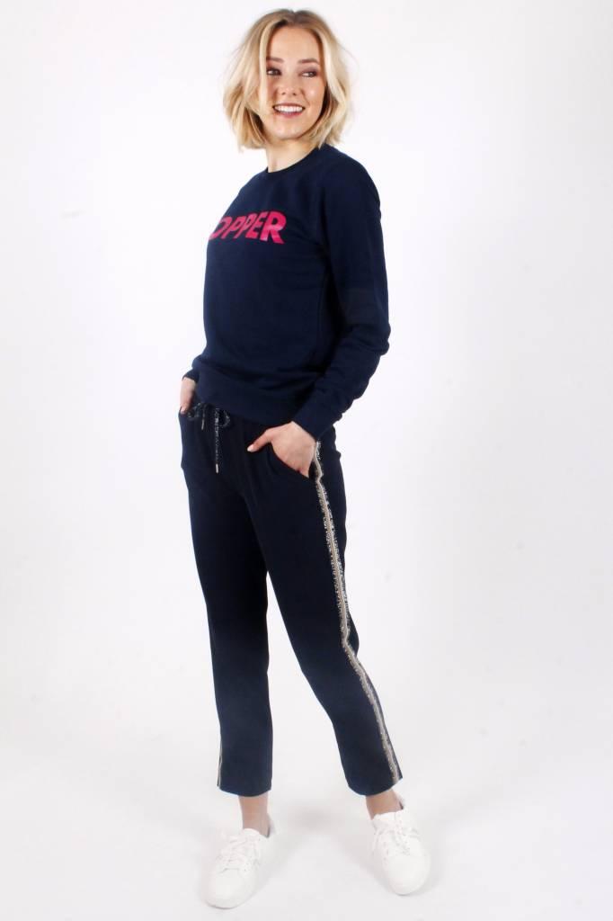 Alex Official Brand TOPPER Navy/Fuchsia