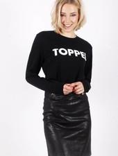 Alex Alex Official Brand TOPPER Black/White