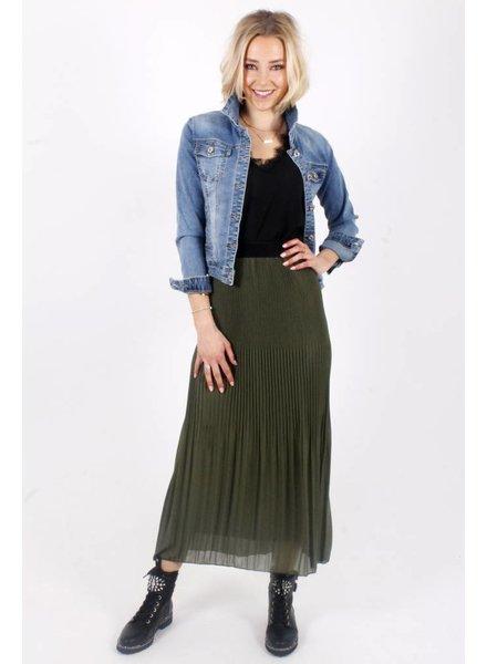 AA Julia Long Skirt Plissé