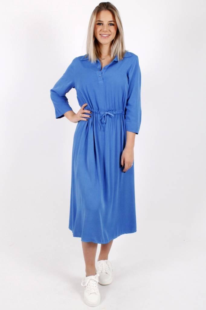 ML Chrystal Chemisier Dress Blue