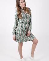GL Dress Print Green Tone