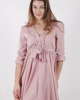 GL Lora Pink Satin Dress