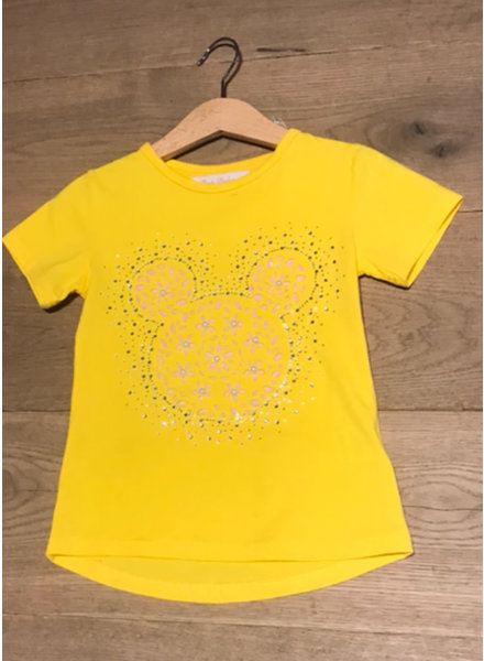 PB Mickey yellow tshirt